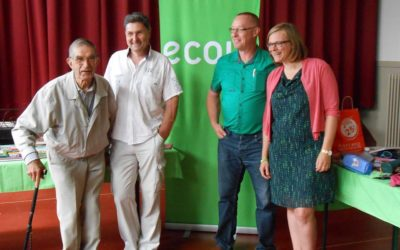 FRASNES : Marie-Colline Leroy et Didier Verdoncq pour mener la liste 2018