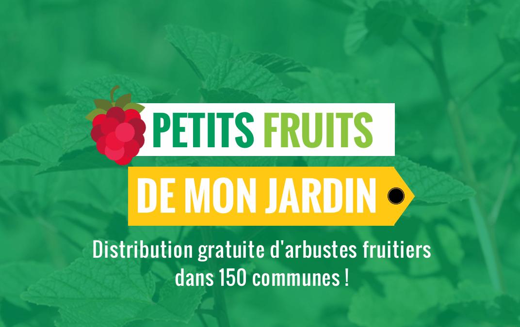 Distribution de petits fruitiers en Wallonie Picarde